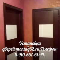 установка дверей рязань